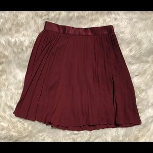 Pleated Circle Skirt